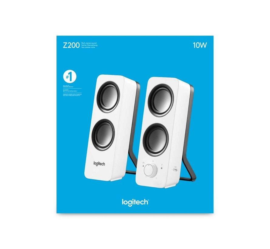 Z200 luidspreker 10 W Wit Bedraad