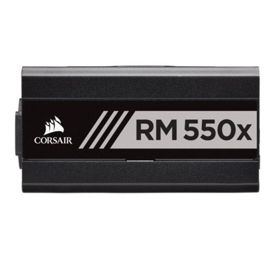 PSU  RM550X 550W / 80Plus Gold / modulair
