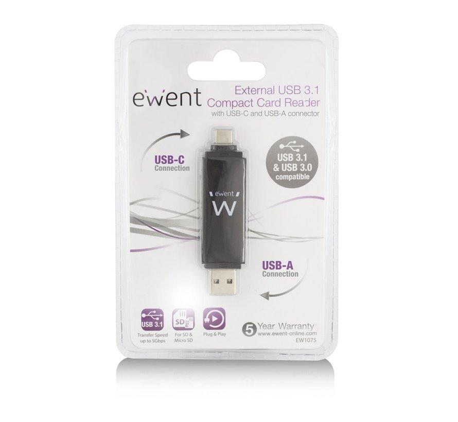 USB 3.1 Cardreader Type C / A