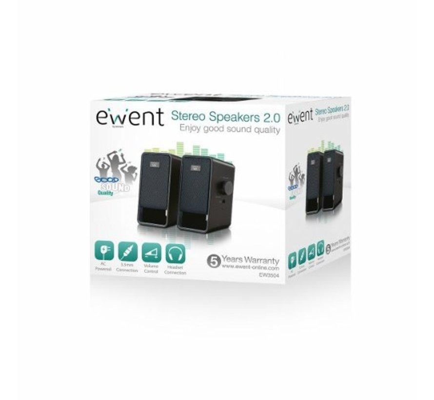 Speaker set 2.0 AC powered