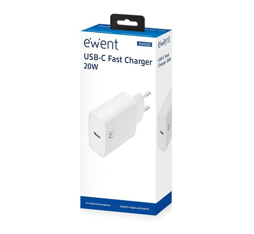 EW1320 oplader voor mobiele apparatuur Wit Binnen