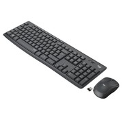 Logitech MK295 Silent Wireless Combo toetsenbord RF Draadloos QWERTY US International Zwart
