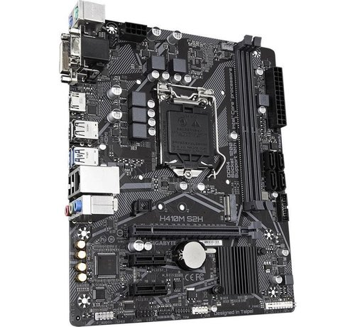 Gigabyte MB  H410M S2H V2 Intel H410 LGA 1200 micro ATX
