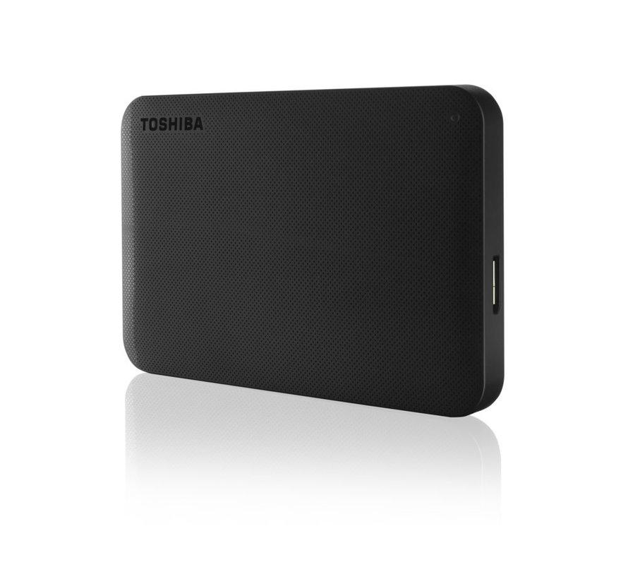 HDD ext.  Ready 1TB / USB3.2 / 2.5Inch / Black (refurbished)
