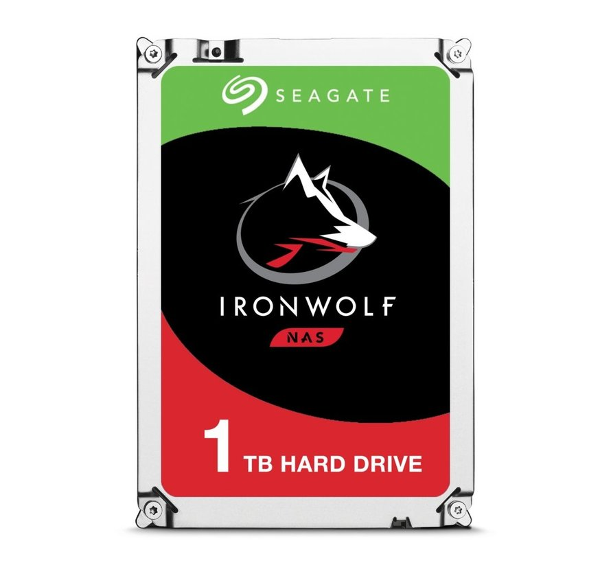 """IronWolf Interne HDD 3.5"""" 1TB SATA III"""