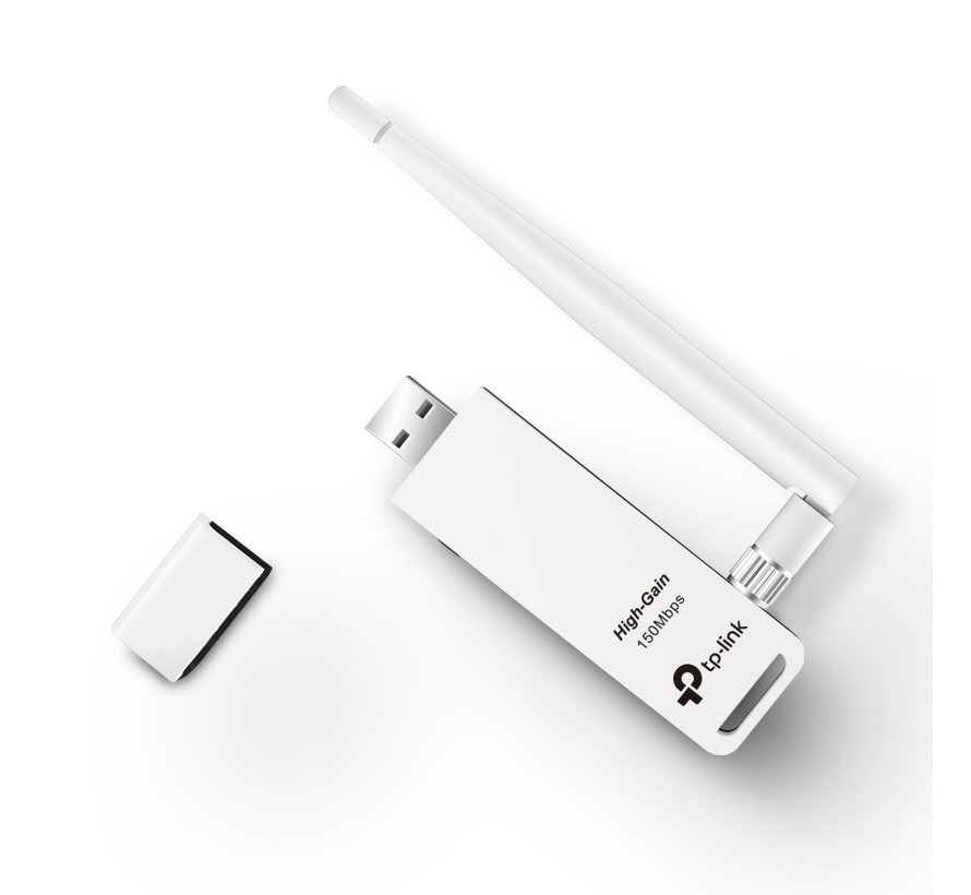150Mbps Wireless N USB Adapter + Antenne