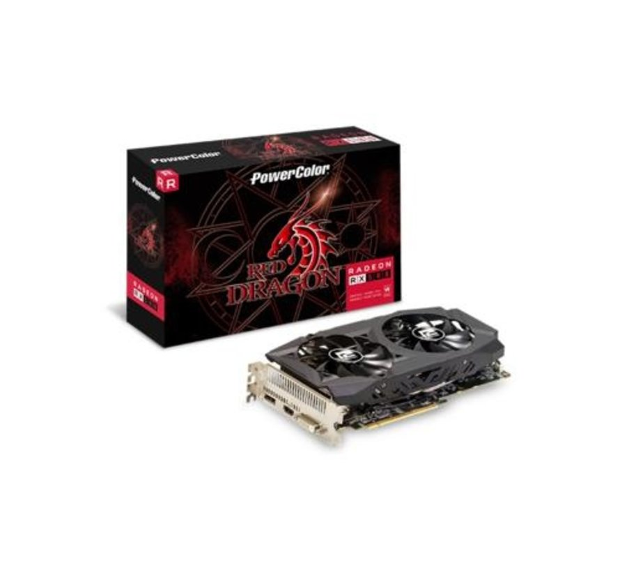 VGA PowerColor Red Dragon AXRX 580 AMD Radeon RX (refurbished)