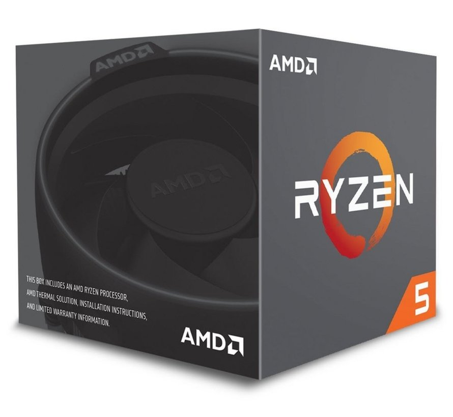 CPU  Ryzen 5 2600 / 6core / AM4 / 3.4-3.9GHZ / Boxed
