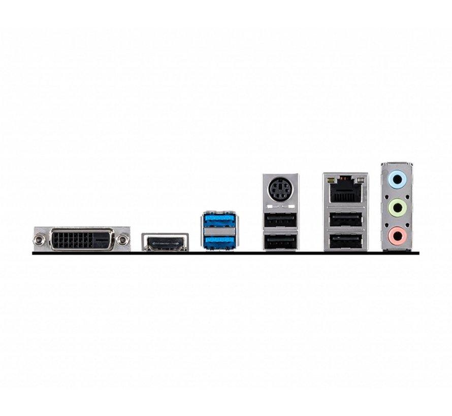 MB  H410M-A Pro / 2 x DDR4 / PCI-E / LGA1200 / mATX (refurbished)
