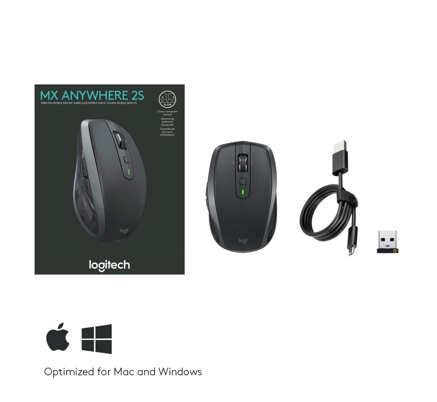 Wireless Mouse MX Anywhere 2S Graphite