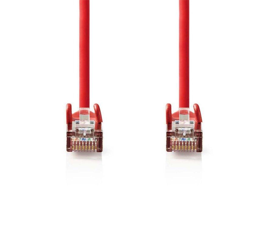 CAT5e SF/UTP-Netwerkkabel/RJ45 1m Rood