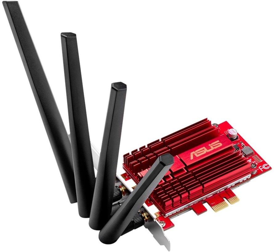 ASUS PCE-AC88 WLAN Intern netwerkadapter