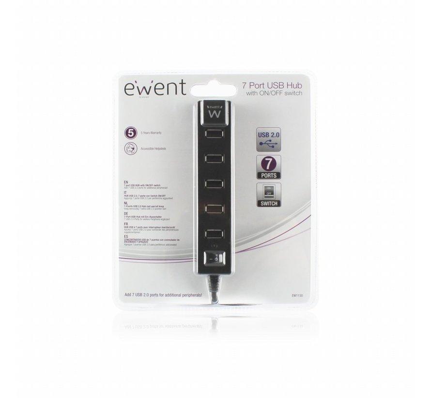 USB 2.0 Hub 7 port