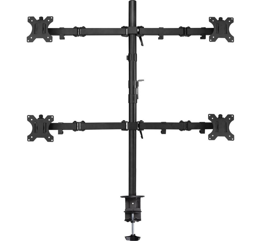 Monitor desk mount stand 4 LCD
