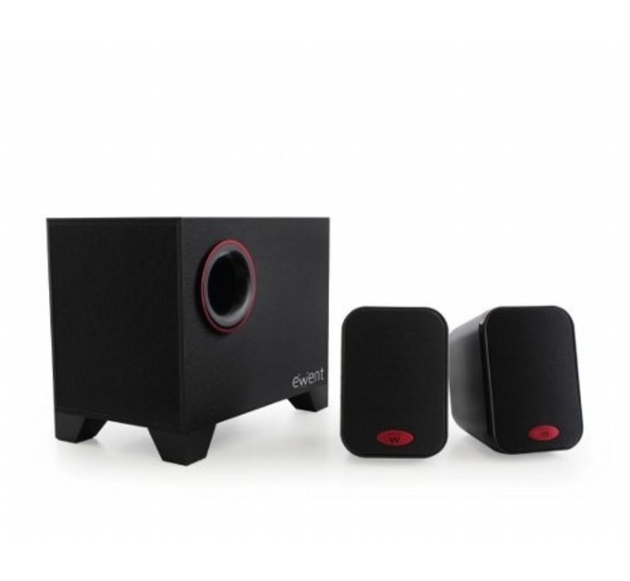 Speaker set 2.1 AC powered