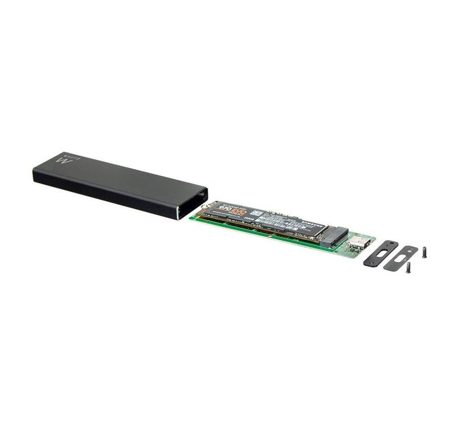 USB 3.1 Gen2 USB-C M.2 NVMe SSD enclosure