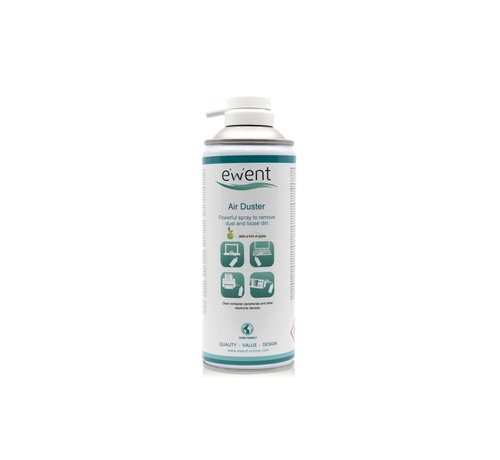 Ewent EWENT Airduster 400ml with apple scent