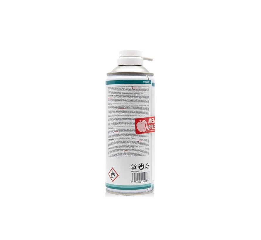EWENT Airduster 400ml with apple scent