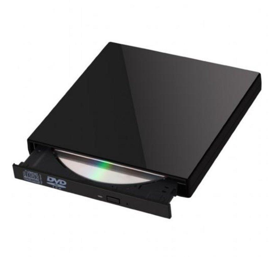 Gembird DVD-USB-02 optisch schijfstation Silver DVD±RW