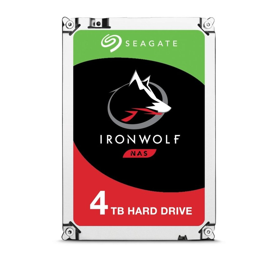 HDD  IronWolf 3.5inch 4TB SATA3 5900RPM