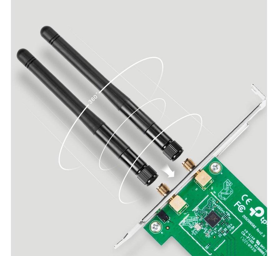 Wireless-N 300MBPS PCIe Adapter Draft-N