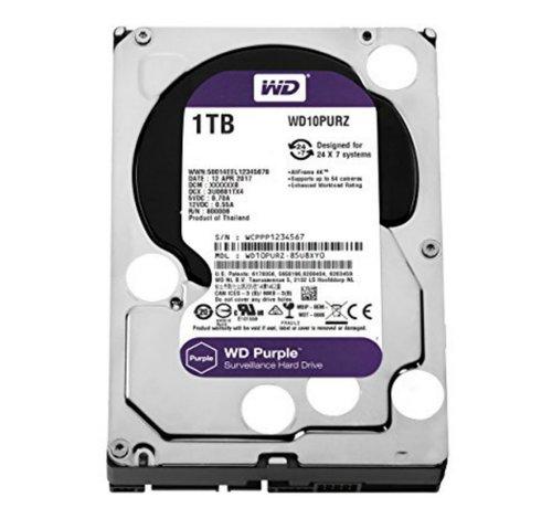 Western Digital HDD WD Purple™ 1TB -  3.5inch - 64MB - SATA3