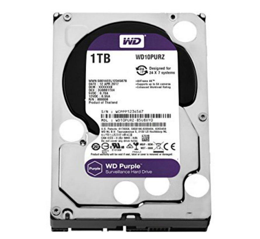 HDD WD Purple™ 1TB -  3.5inch - 64MB - SATA3