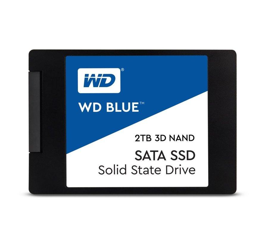 """SSD WDl Blue 3D 2.5"""" 2TB SATA III"""