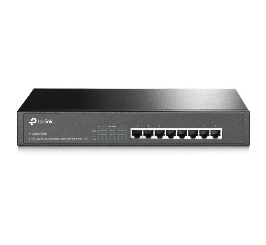 TP-LINK TL-SG1008MP Unmanaged Gigabit Ethernet (10/100/1000) (refurbished)