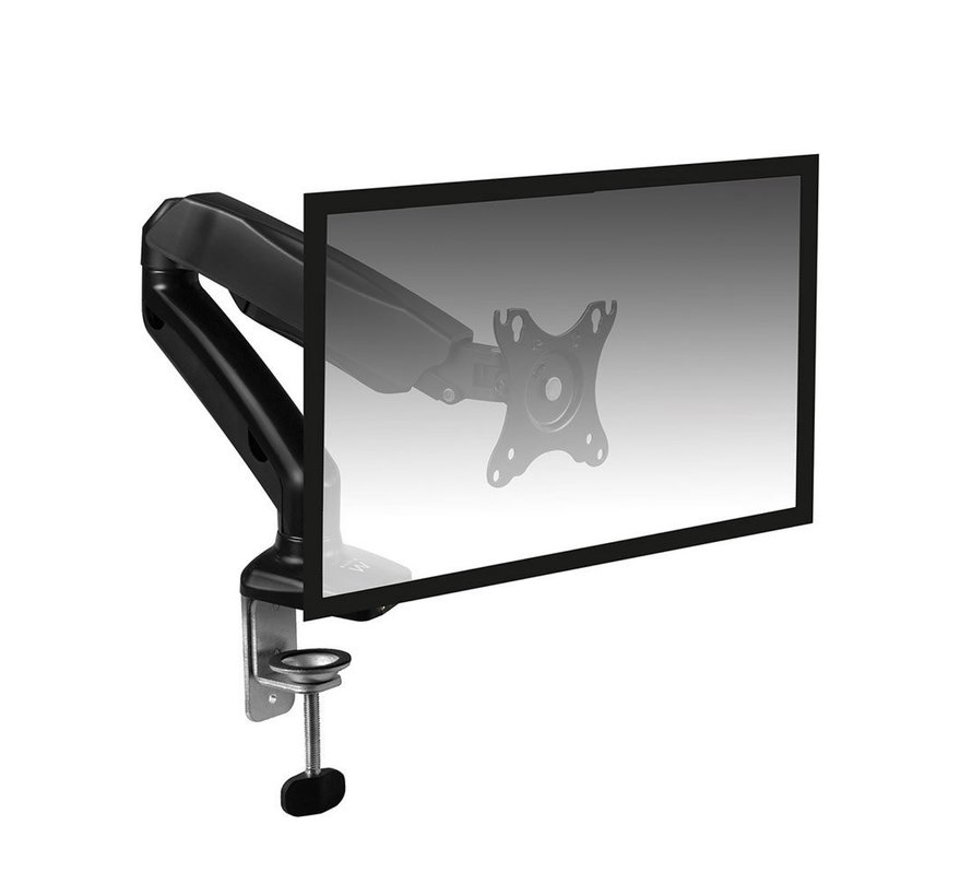 Monitor desk mount stand gas spring 1 LCD (refurbished)