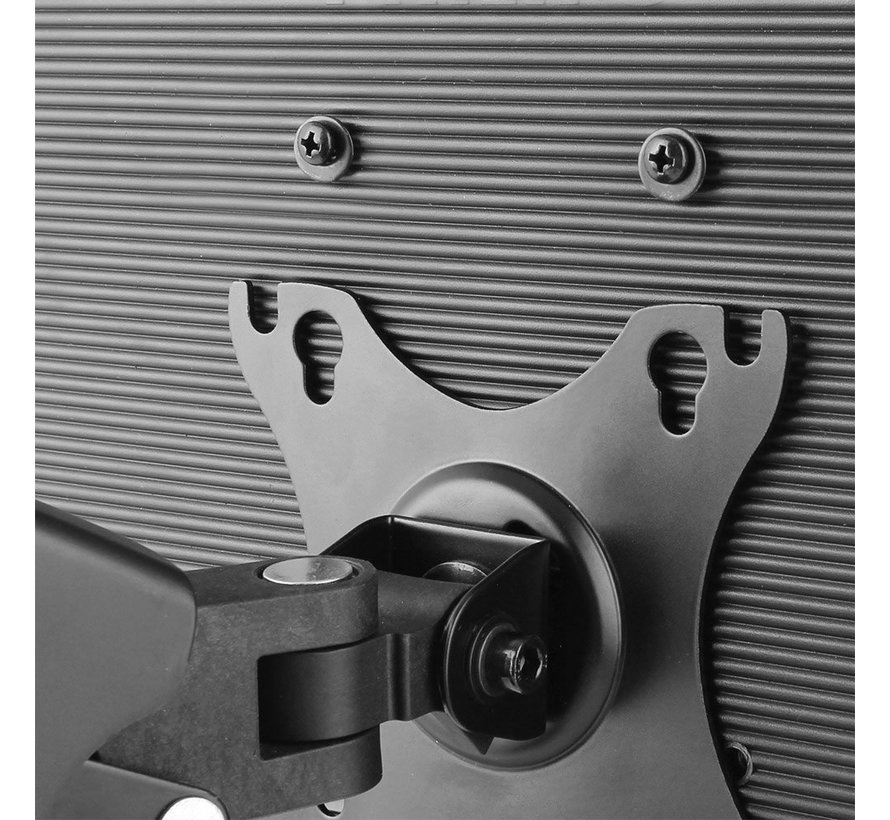 Monitor desk mount stand gas spring 2 LCD (refurbished)