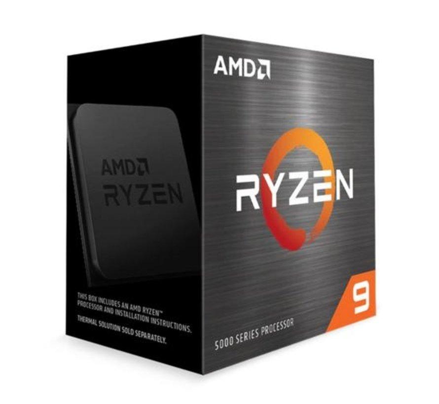 CPU  Ryzen 9 5900X processor 3,7 GHz 64 MB L3