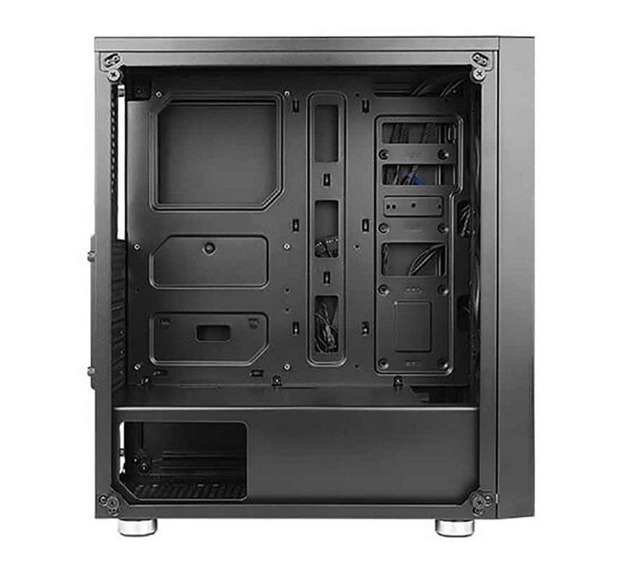 Case  New Gaming NX320 Midi Tower zwart W7P