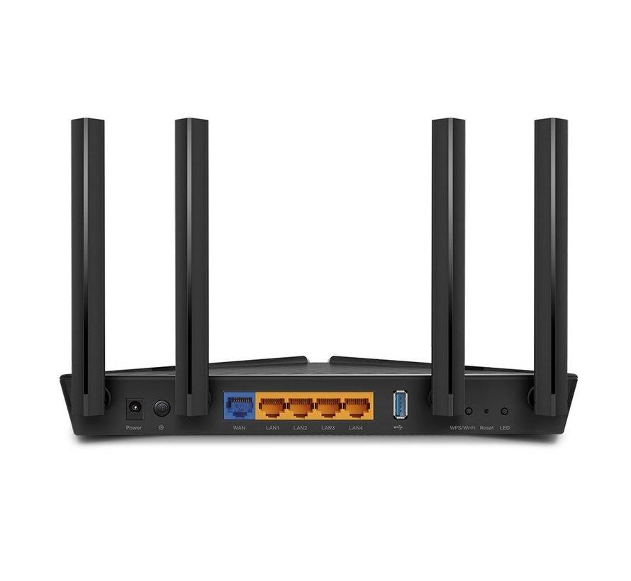 TP-LINK Archer AX50 draadloze router Gigabit Ethernet Dual-b