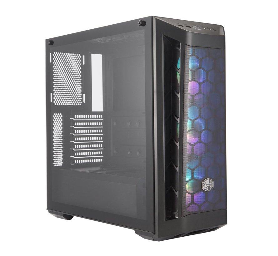 Case Cooler Master MasterBox MB511 ARGB Midi Tower Zwart