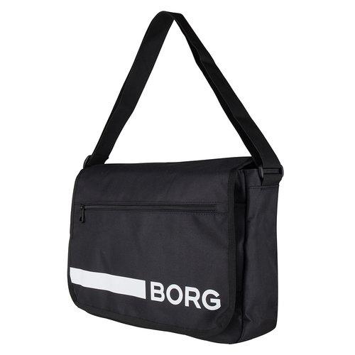 Bjorn Borg Schouder Tas Flyer Low - Zwart