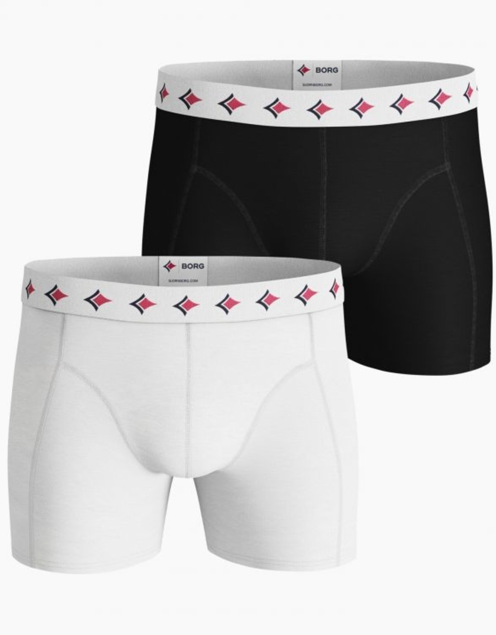 Bjorn Borg Boxershorts 2-pack Solid