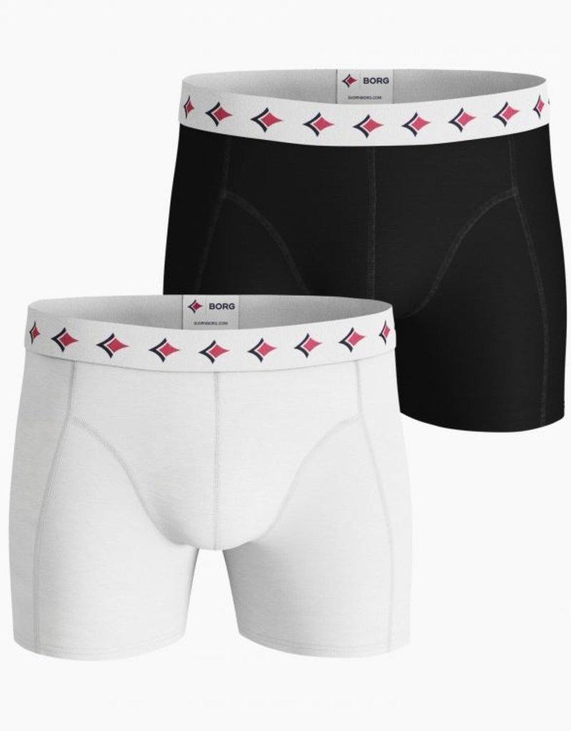 Bjorn Borg Boxershort 2-pack Solid