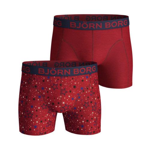 Bjorn Borg Boxershort 2 Pack Graphic Star