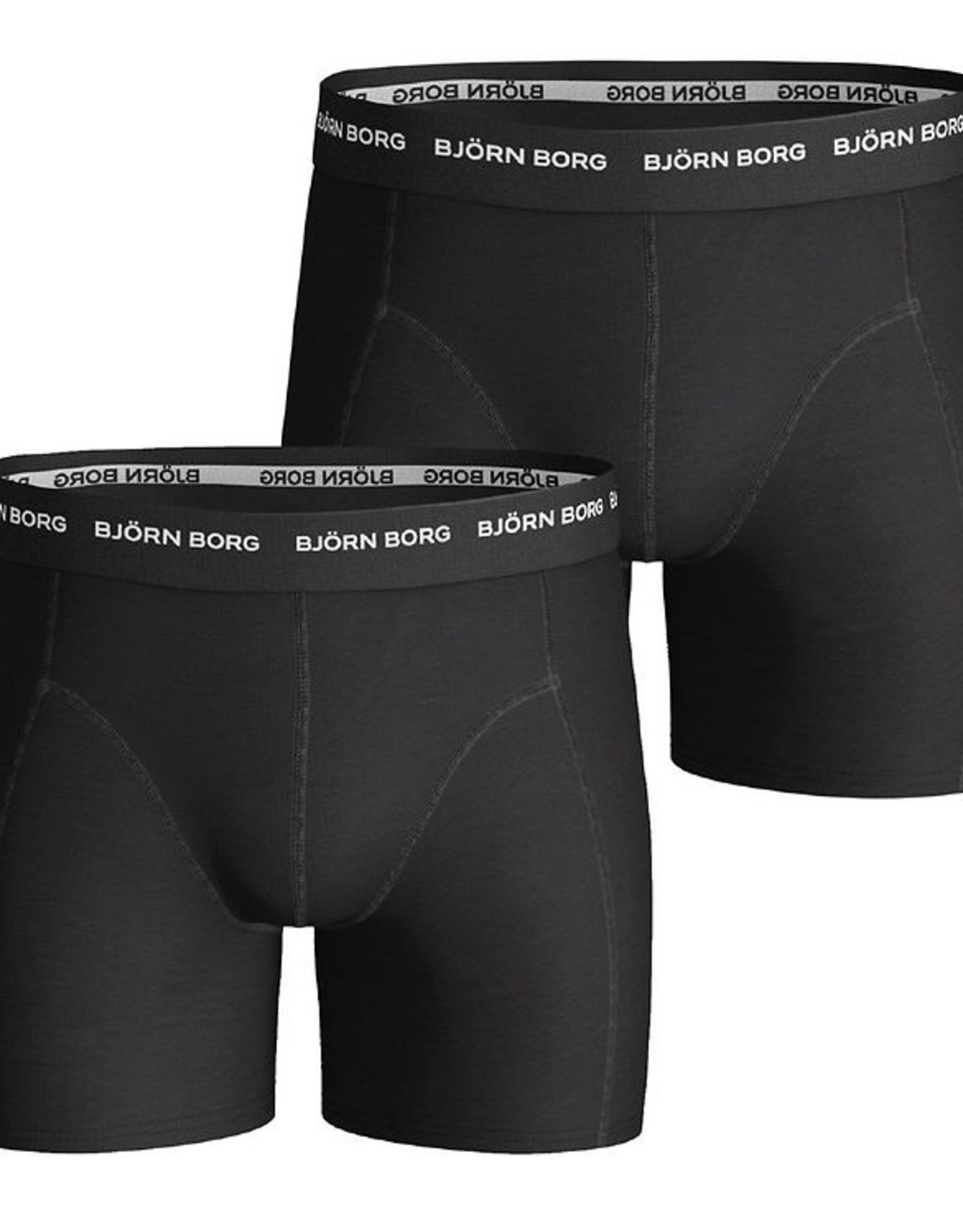 Bjorn Borg Boxershorts 2 Pack Running Solids