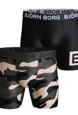 Bjorn Borg Boxershorts 2 Pack Per Peacefull