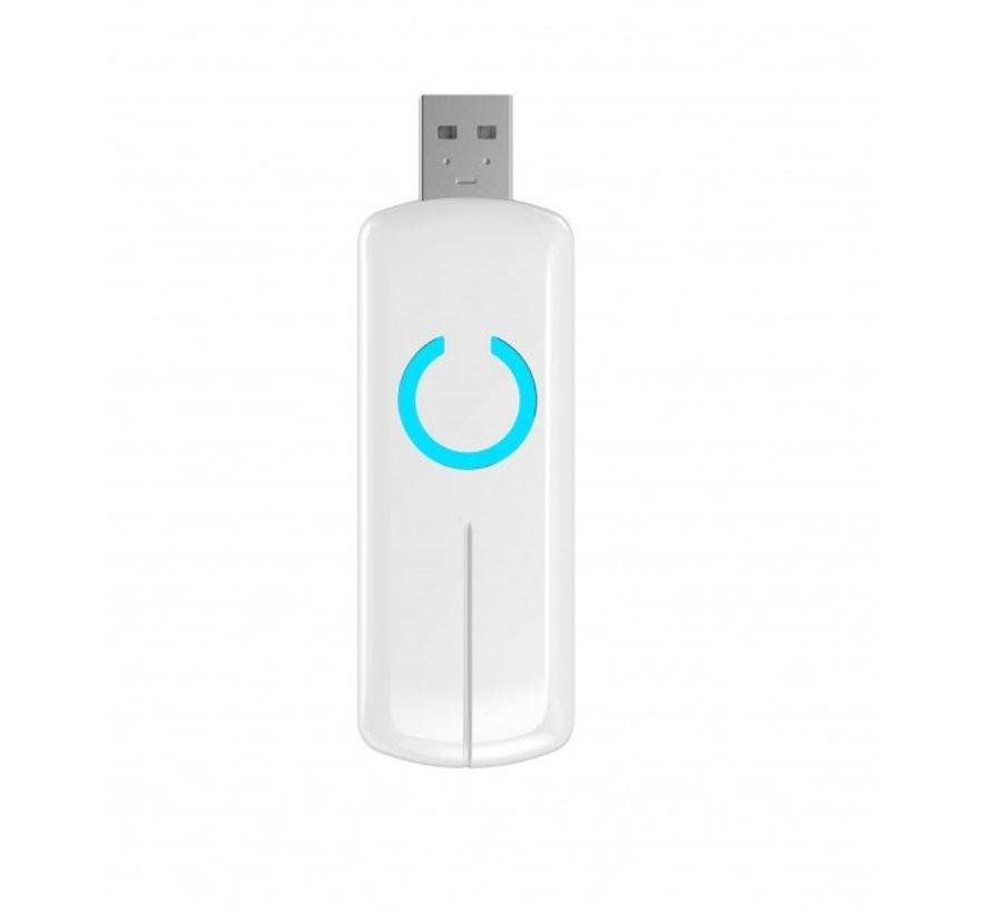 Z-Wave stick USB met back-up batterij