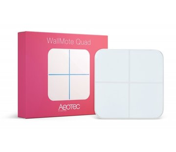 Aeotec Wallmote met 4 Buttons