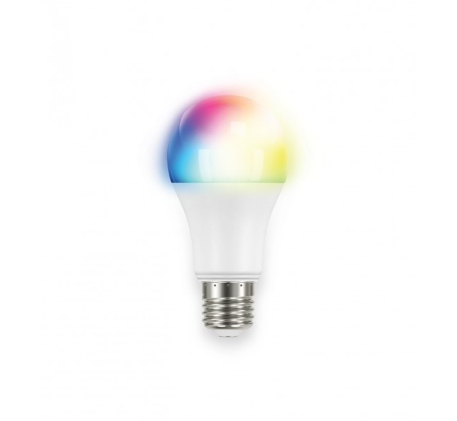 E27 Ledlamp Z-Wave Multi-Color