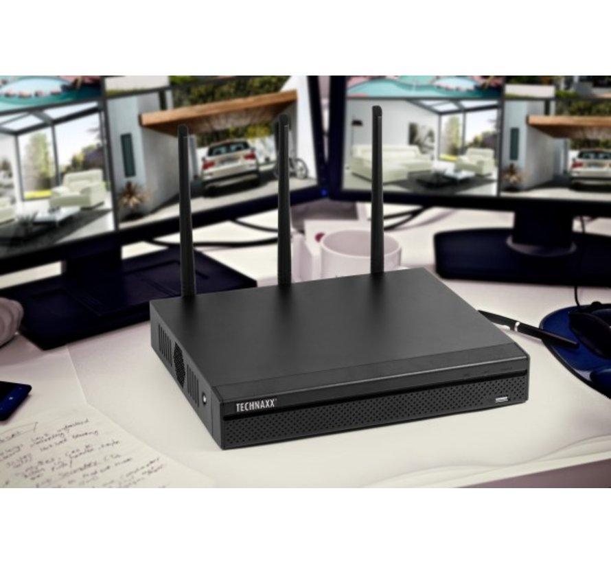 Technaxx WiFi NVR-Recorder Security PRO TX64