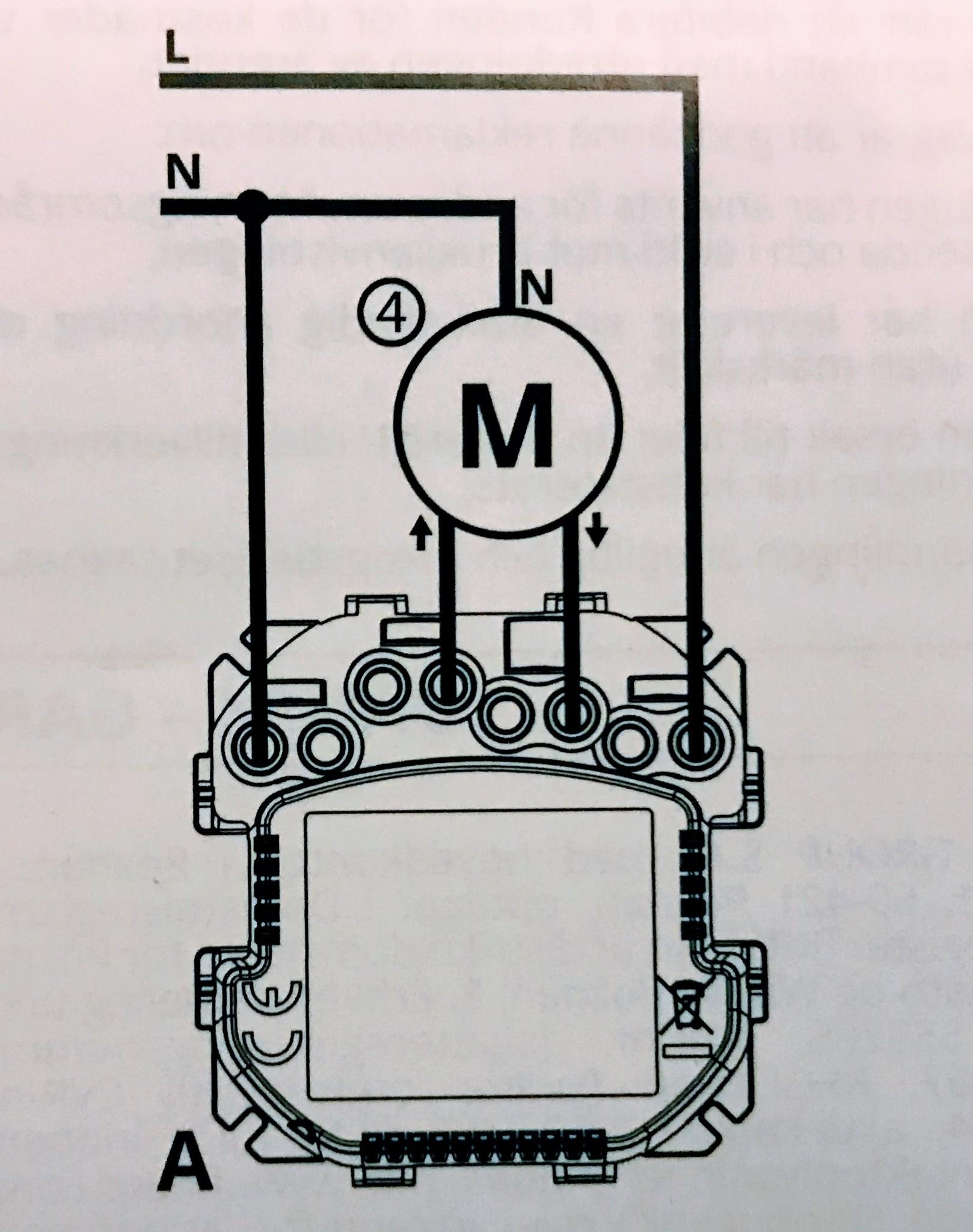 Fibaro roller shutter aansluit schema