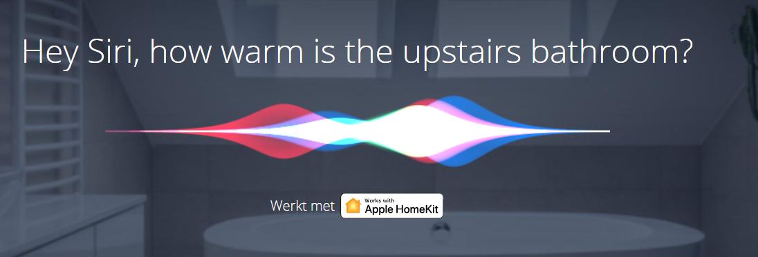 Siri-overstromingssensor-apple homekit