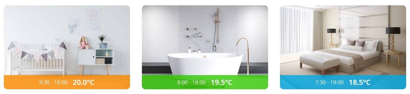 Smart home klimaat-De intelligente thermostaatknop - The Heat Controller