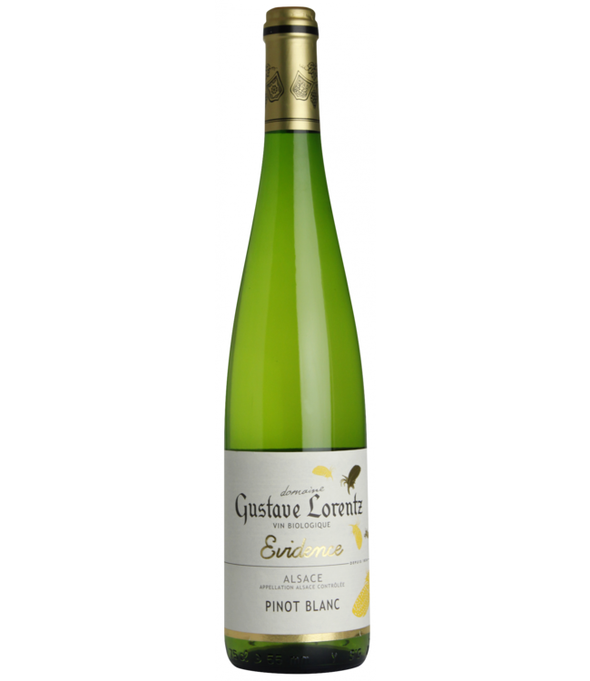 Gustave Lorentz Pinot blanc evidence