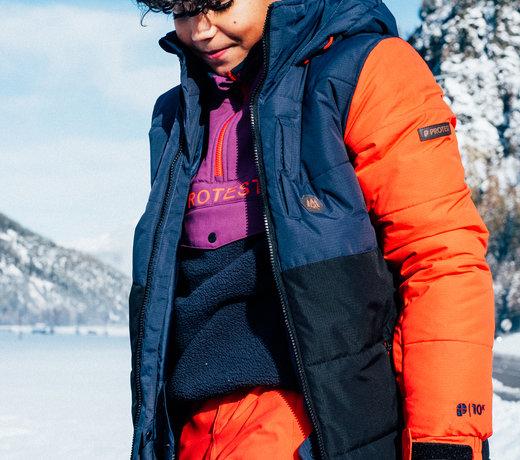 Om te skiën, snowboarden of sleeën...